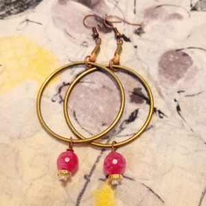 💗5 For $25💗Ladies Brass Dangling Earrings